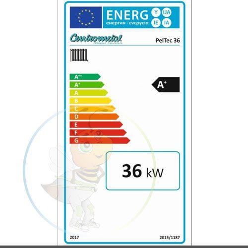 Pel Tec 36 energetska izkaznica