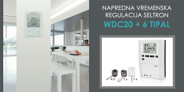 Regulacija Seltron WDC20 in 6 tipal